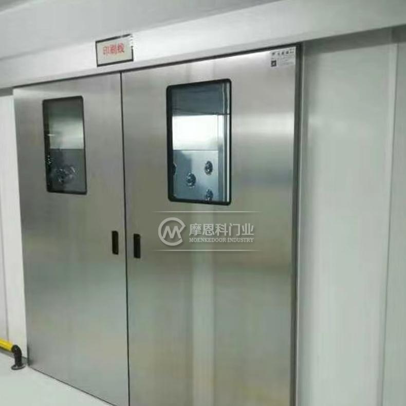 医院走廊不锈钢门